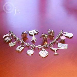 Tiffany charm bracelet.
